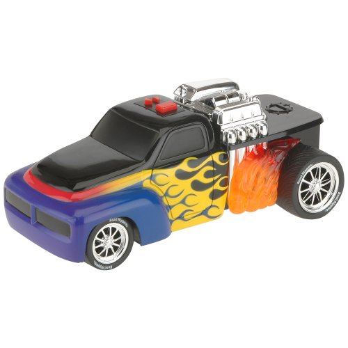 Road Rippers Rock & Roller Vehicle: Hot Rod (Blue/Red) - 1