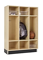 Diversified Woodcrafts BP-3615-51M Backpack Cabinet, 9 Openings, 51\