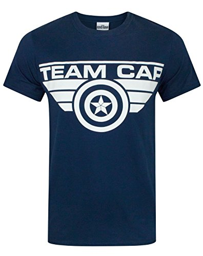 Uomo - Vanilla Underground - Captain America Civil War - T-Shirt (L)
