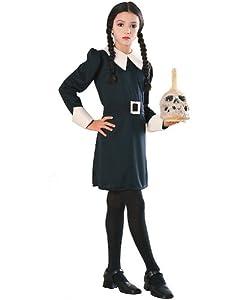 Girl's Wednesday Addams Costume