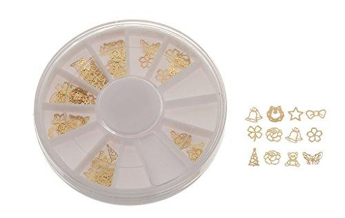 EOZY-Nail Unghie Sticker Adesivo Accessori Fiori Decorazione