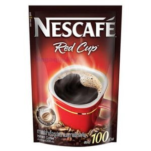 NEW Instant Coffee Nescafe Red Cup Drinking - Original 200 Gram Made in Thailand