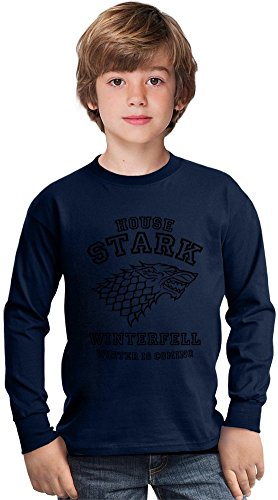 badwolf-winterfell-house-stark-funny-slogan-amazing-kids-long-sleeved-shirt-by-true-fans-apparel-100