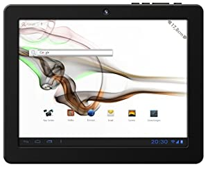"Odys LOOX PLUS, Tablette tactile 7"" (17,8 cm), 1.2 GHz, 512 MB DDRIII RAM, Camera, WIFI, MicroSD Card Slot, 4 Go Flash Memory, OS Android 4.0, Noir"