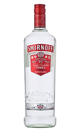 Smirnoff Red Label Vodka 1 Litre Bottle