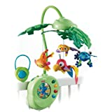 Fisher-Price Rainforest Peek-A-Boo Leaves Musical Mobile ~ Fisher-Price