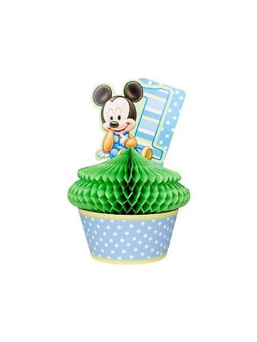 Hallmark 201212 Disney Mickeys 1st Birthday Centerpiece - 1