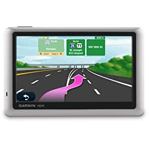 $129.99 Garmin nvi 1450LMT 5-Inch Portable GPS Navigator with Lifetime Map &#038; Traffic Updates