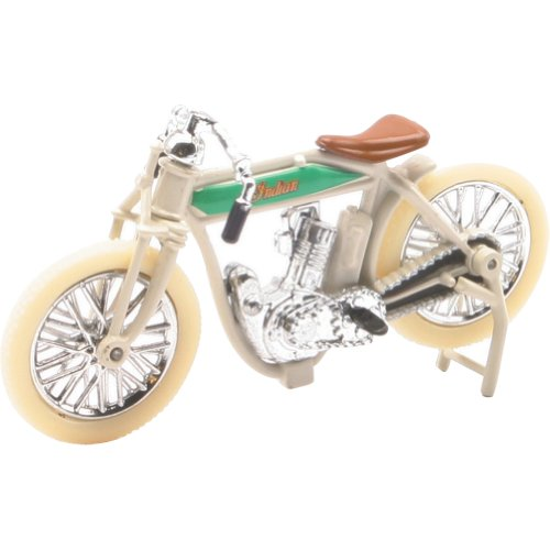 New Ray 1914 Indian Single Board-Track Racer Replica Motorcycle Toy - 1:32 Scale