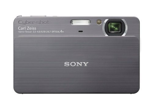 Sony Cybershot DSC-T700 10MP Digital Camera with 4x Optical Zoom with Super Steady Shot Image Stabilization (Grey)
