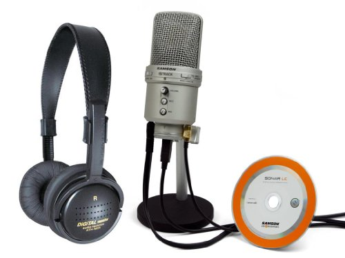 Samson Gm1U Recording Mic With Ath-M2X Headphones