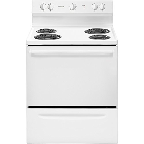 Frigidaire Ffef3003Nw Ffef3003Nw Electric 4.2 Cu. Ft. White Freestanding Range