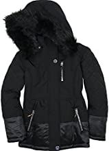 Mayoral Junior Girl39s Parka Coat Black Sizes 8-16