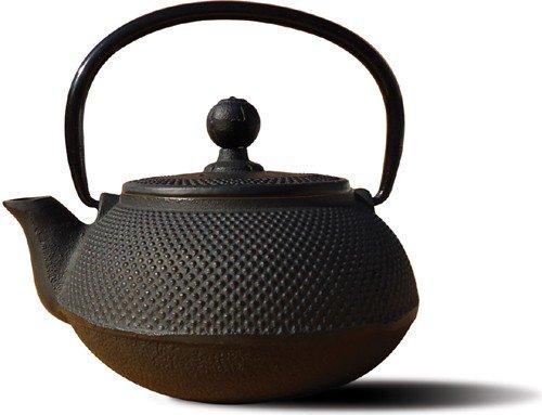 Old Dutch Cast Iron Sapporo Teapot, 20-Ounce, Black front-124937