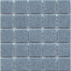 12 x 12 In. Pale Denim Glass Blue Mosaic Tile Kitchen, Bathroom Backsplash Tiling