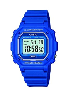 Casio Men's Classic Digital Resin Watch Blue F108WH-2