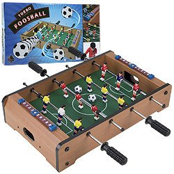 Trademark GamesT Mini Table Top Foosball w/ Accessories. Product Category: Toys & Games > Games