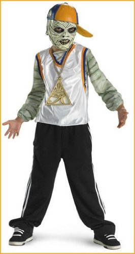 Rap Star Mummy Deluxe Kid's Costume