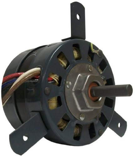 Fasco D1058 5.0-Inch Diameter Psc Motor, 1/20-1/30-1/40 Hp, 265 Volts, 1100 Rpm, 3 Speed, .5-.3-.2 Amps, Cw Rotation, Sleeve Bearing