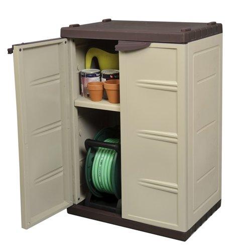 Palm Springs Lockable Compact Garden Cabinet