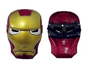 Wear it you are iron man superhero Halloween MASK