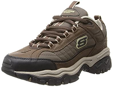 Skechers Men's Energy Downforce Lace Up,Brown Taupe,6.5 M US