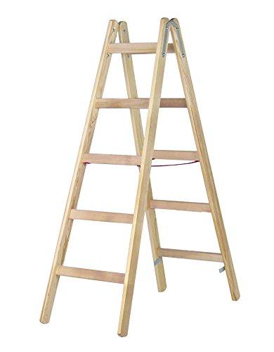 HYMER-Holz-Sprossenstehleiter-2-x-5-Sprossen-7141010