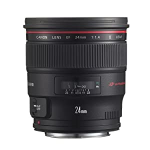 Canon EF 24mm f/1.4 L USM II Wide Angle Lens