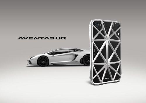 iPhone 4/4S ケース Emie Lamborghini Aventador スタイル