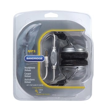 Bandridge Deluxe Headphone with 2m Cable
