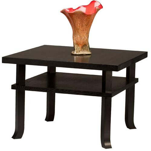Cheap TLS by Design 15B-1020-D1 Sonoma Heights Rectangular End Table – Espresso (15B-1020-D1)