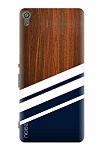 Noise Designer Printed Case / Cover for Sony Xperia XA Dual / Patterns & Ethnic / Wooden Diagonals Print Design