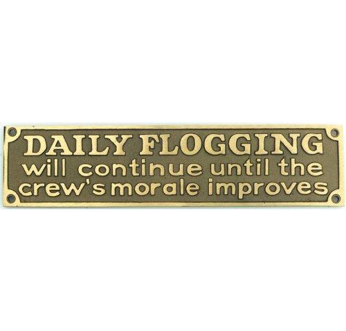Nauticalia Daily flogging will continue until the crew…