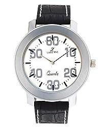 Lucerne Black Analog Watch