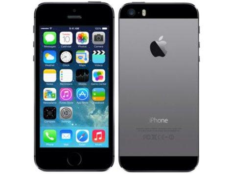 iPhone 5s 64GB スペースグレー (au)