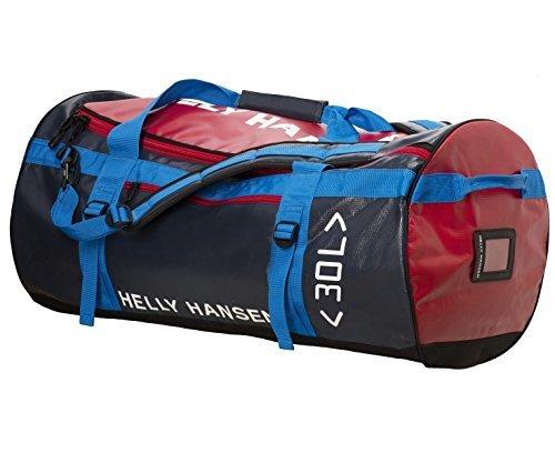 Helly Hansen Hh Classic Duffel Bag Borsa Sacca - Blu (598 Navy Check) - Taglia Unica