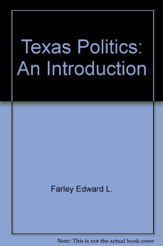 Texas politics: An introduction PDF