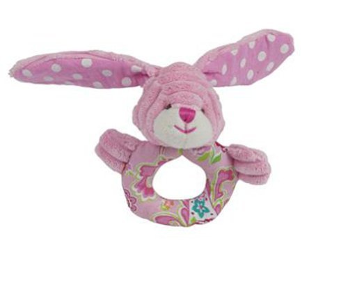 Maison Chic Ring Rattle, Bunny
