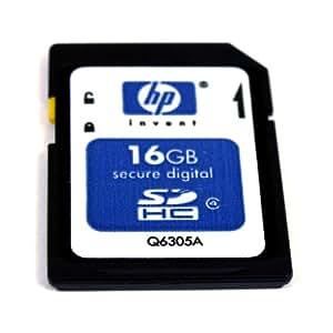 HP 16 GB Class 4 SDHC Flash Memory Card Q6305A-EF