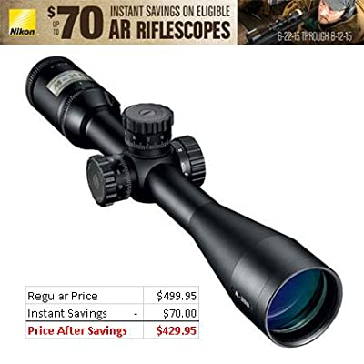 Nikon M-308 4-16x42mm Riflescope w/ BDC 800 Reticle,Black by Nikon