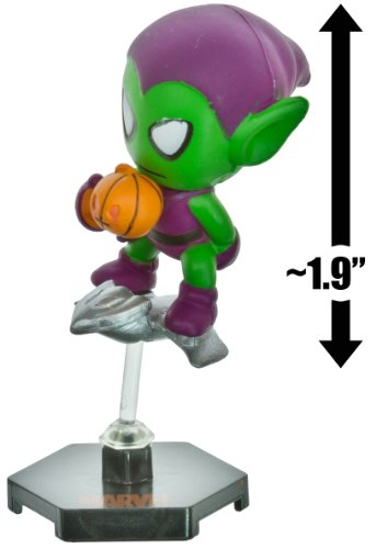 "Green Goblin ~1.9"" Mini-Figure + Stand: Marvel Minis Collect-a-Balls Series"