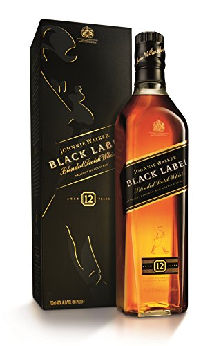 Johnnie Walker discount duty free Johnnie Walker Black Label Blended Scotch Whisky 70 cl