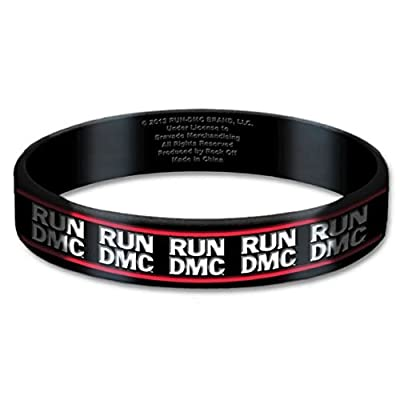 Offizielle RUN DMC wristband gummy 10mm