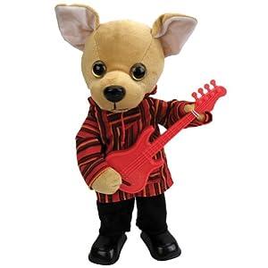 Amazon.com: La Bamba Chihuahua Plush Toy Guitar Playing Singing Dog