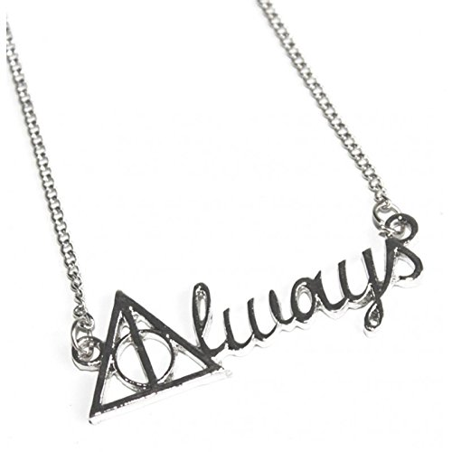 Collana ALWAYS Severus Piton a Silente versione ARGENTO - Harry Potter HIGH QUALITY