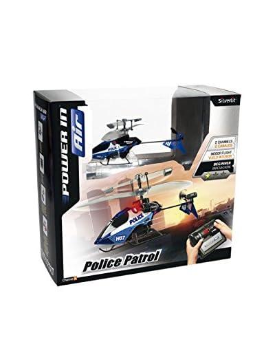 Worldbrands Nanocóptero Police Patrol (2 Canales)