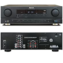 Sherwood RX4503 100 Watt RMS Dolby Virtual Surround Sound Receiver Black