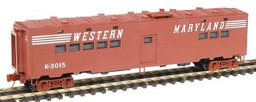 Micro Trains N 11800030: Western Maryland 50' Troop Kitchen Car, WM #3015 (N Scale)
