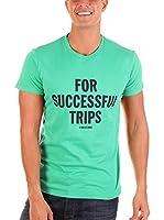 Diesel Camiseta Manga Corta Trips (Verde)