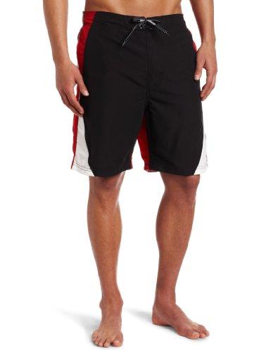Free Country Men's Dawson Patrol Swim Plaid Free C Board Swimsuit